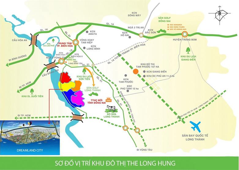 Dat nen Long Hung Bien Hoa 65tr m2