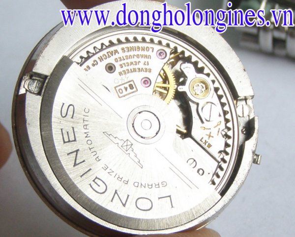 Dong ho Longines Admiral 14k Gold White Solid Automatic Cal 340