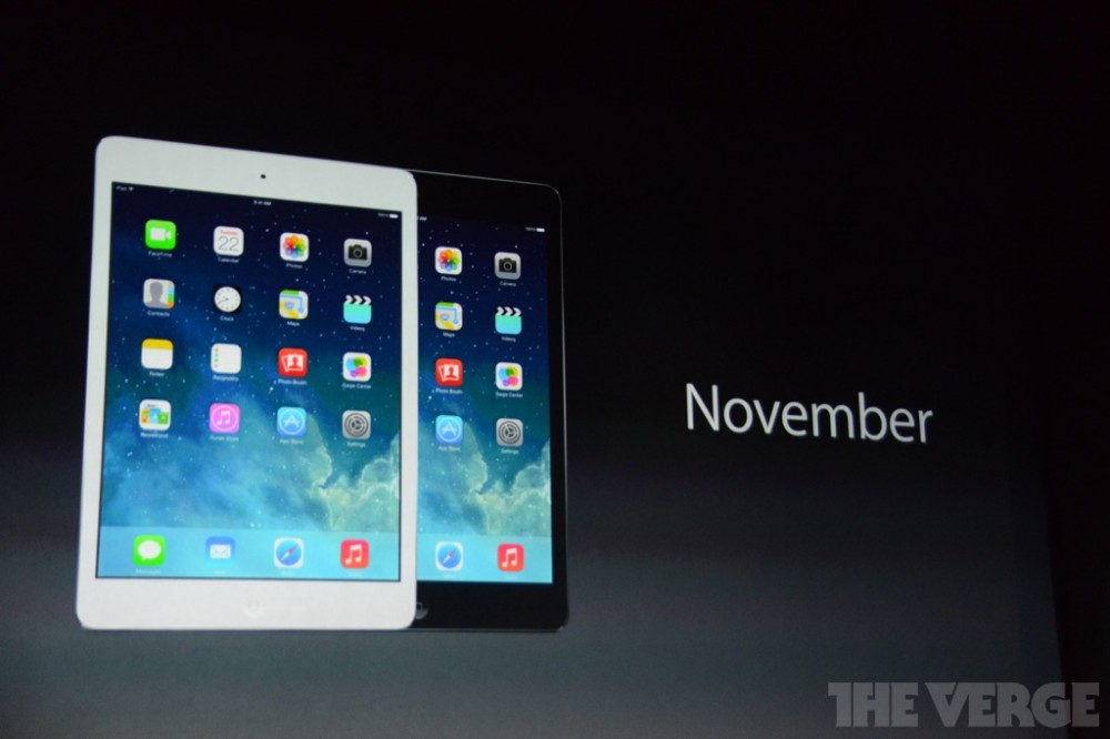 Apple gioi thieu quotiPad Airquot tro thanh tablet nhe nhat the goi