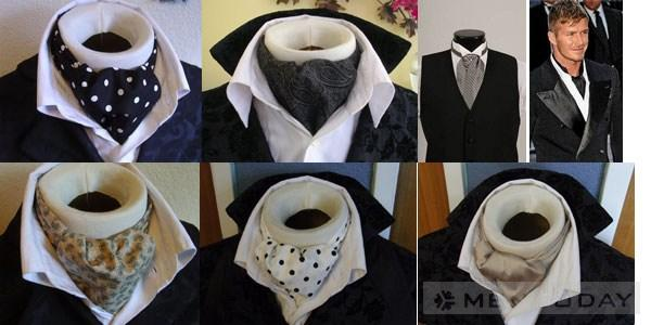 Ascot tie Phu kien thay the cravat