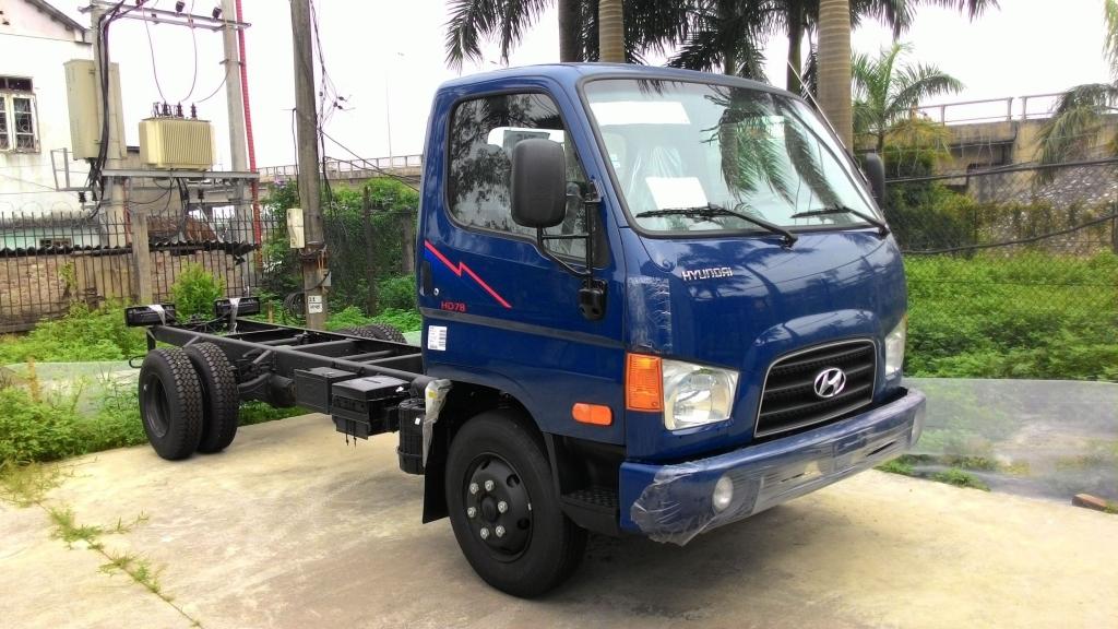 Ban xe tai Hyundai HD78 4t5 nhap khau nguyen chiec tu Hyundai Han Quoc