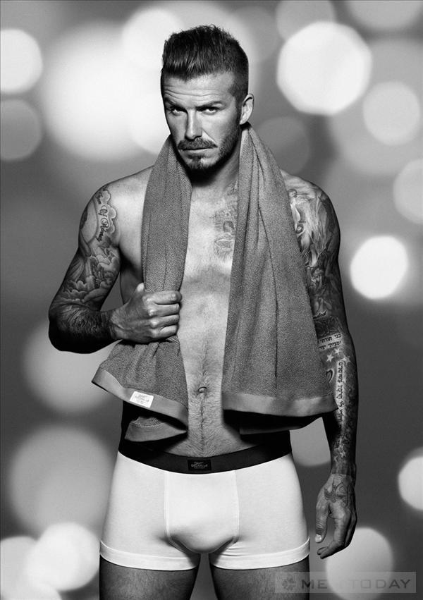 Beckham quang cao do lot cho chien dich Giang sinh cua HampM