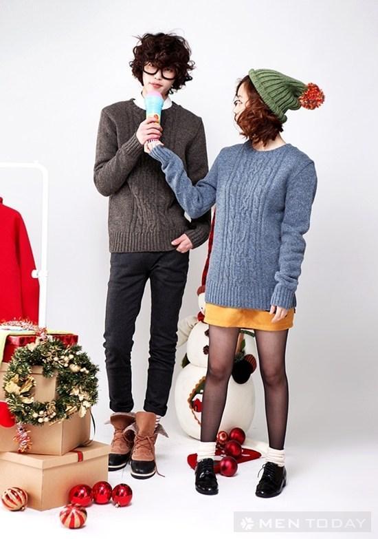 Cap doi de thuong mua Noel