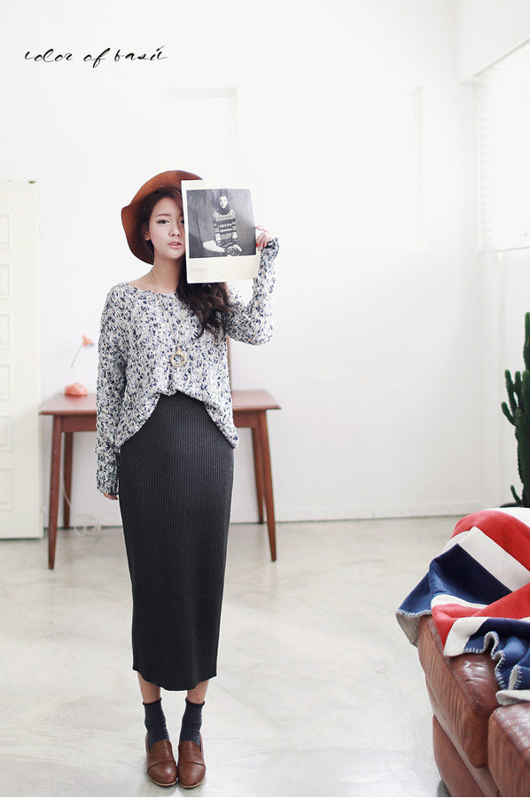 Chan vay len ao quan style Han Quoc cuc hot cho cac nang nhe