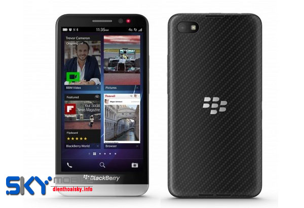 Dia chi ban Blackberry Z10 moi 100 chat luong gia uu dai