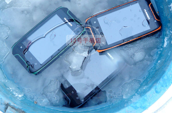 Dien thoai Hummer H1 Android 41 wifi chong nuocckong va dap