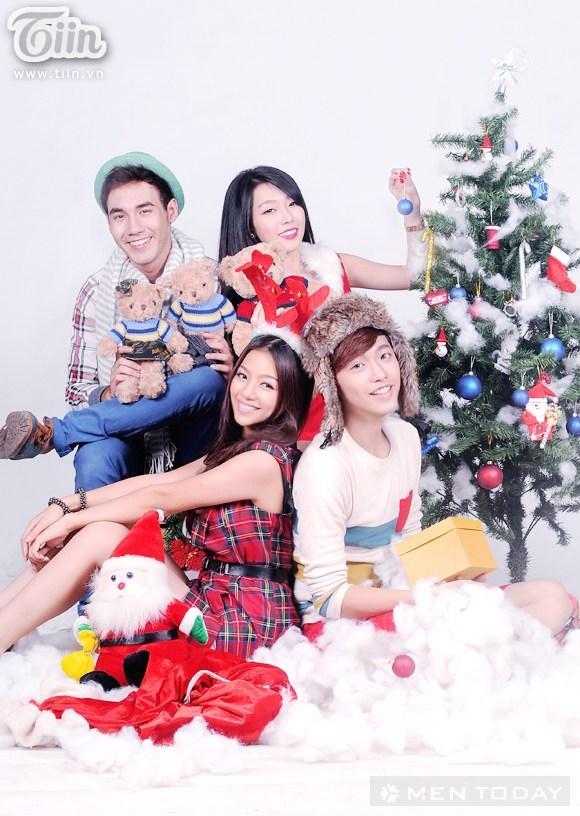 Don giang sinh vui tuoi cung hot teen Sai Thanh