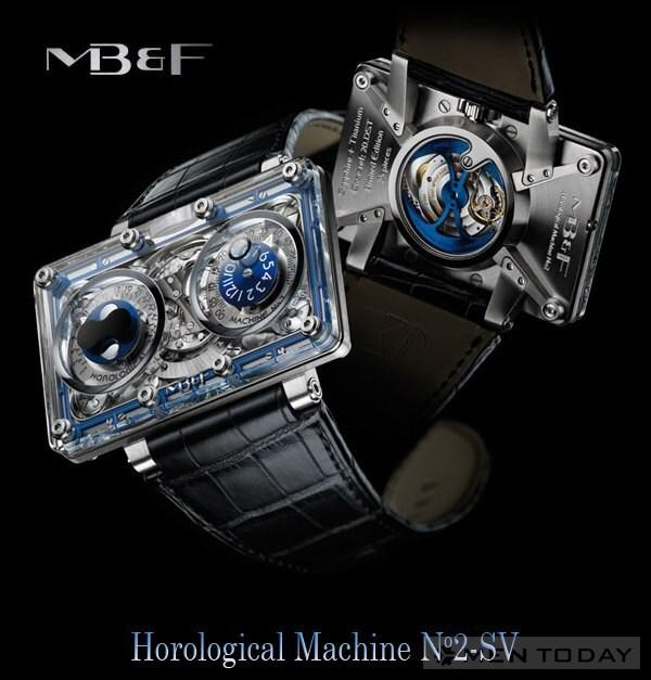 Dong ho doc dao MBampF Horological Machine No2SV