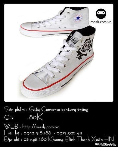 Giay nam cac hang Converse Vans Prada Le Coq Zara Clarks hot 2013 2014