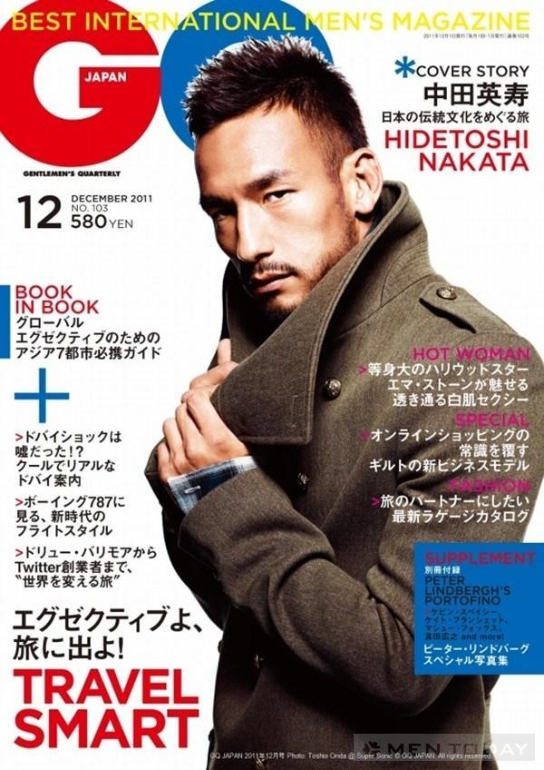 Hidetoshi Nakata va nhung thanh cong voi thoi trang