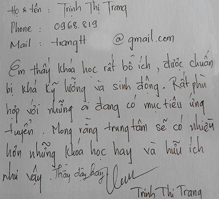 Huong dan ky nang viet CV phong van xin viec Mien Phi cho ke toan moi ra truong