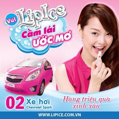 Minh Hang vi vu xe hong