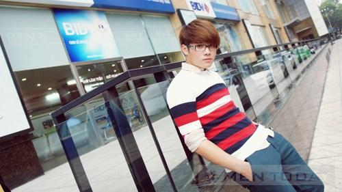 Mix do nam thu dong Cardigan tre trung cho teen boy