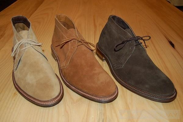 Mua dong am ap cho cac chang voi Desert boots