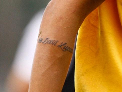 Nhung hinh xam cua Neymar