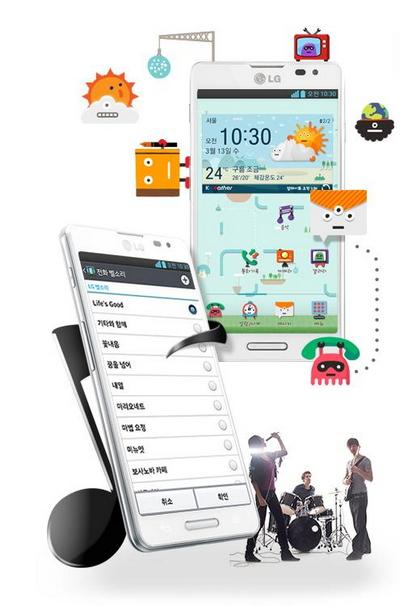 Noi ban LG OPTIMUS LTE3 gia bat ngo