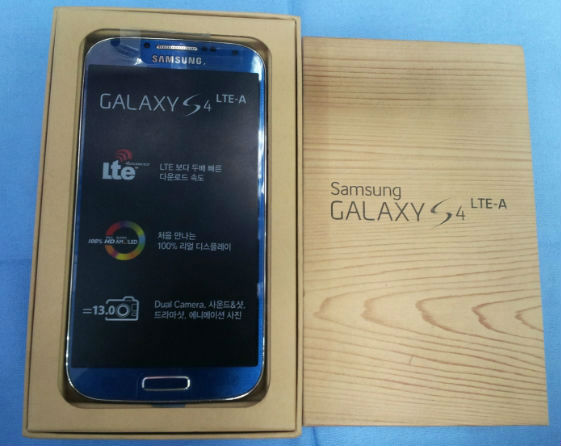 Noi ban Samsung Galaxy S4 LTE A chinh hang moi 100