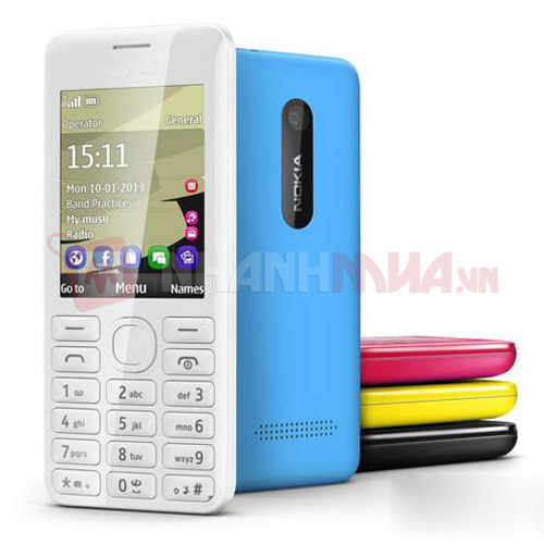 Nokia 206 2 Sim 2 song Hang gowin
