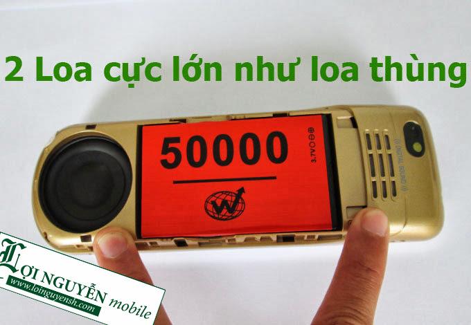 Nokia K60 Dien thoai pin cuc khung pin cho 5 thang