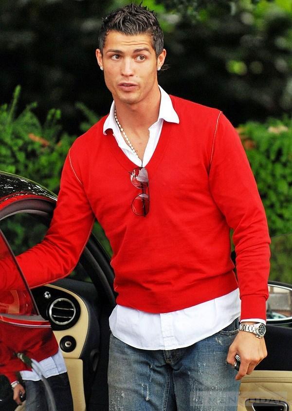 Phong cach thoi trang cua Cristiano Ronaldo