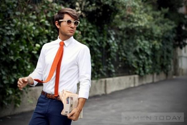 Preppy style Thoi trang hoc duong cho quy ong