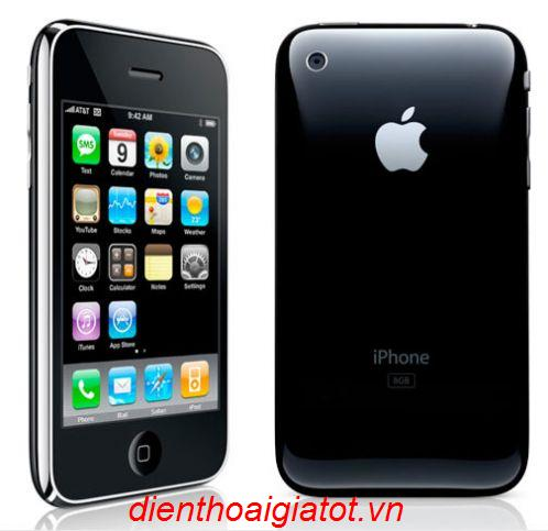 Khuyen mai hap dan iphone 3G 8gb 1298000d