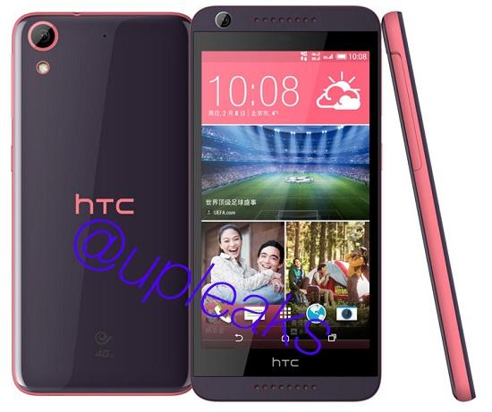 Smartphone tam trung HTC Desire 626 lo day du cau hinh va chuan bi len ke