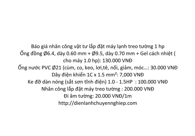 So sanh chi phi khi mua va lap dat may lanh inveter panasonic 1hp va daikin 1 hp