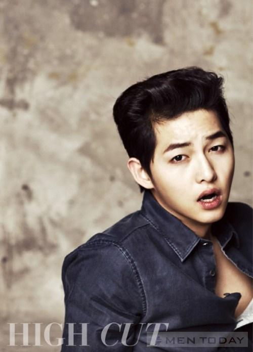 Soi Song Joong Ki ngay ngo tren High Cut