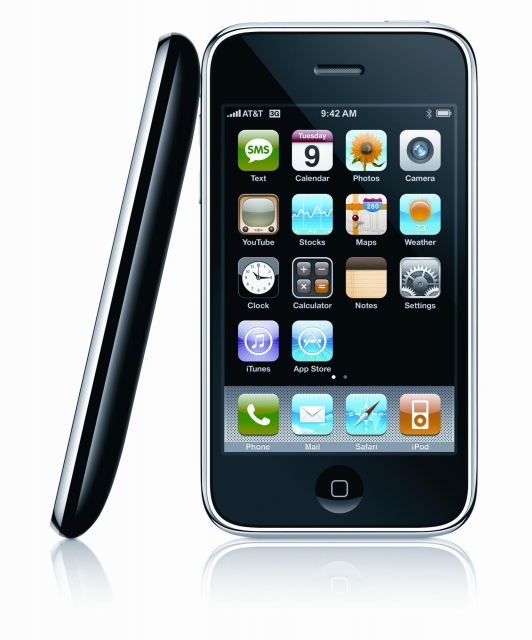 Thanh ly dt iphone 3G 8gb qte 1198000d