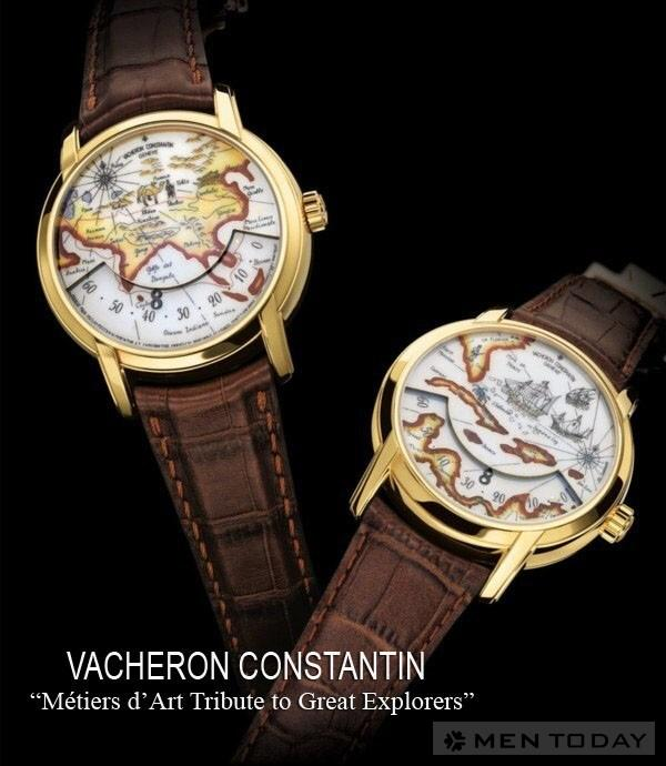 Vacheron Constantin vinh danh nhung nha tham hiem vi dai