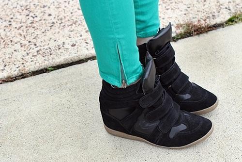 Wedge Sneaker xu huong giay quotdonquot cuc ca tinh