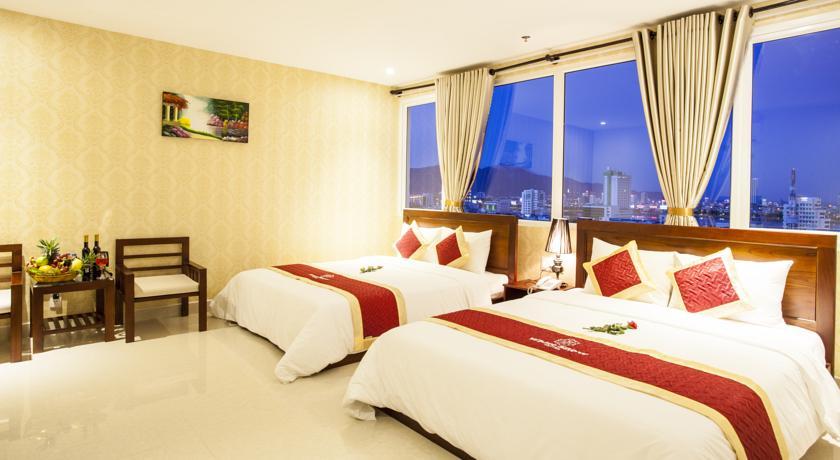 White Snow Hotel Ve dep khach san gan cau Song Han