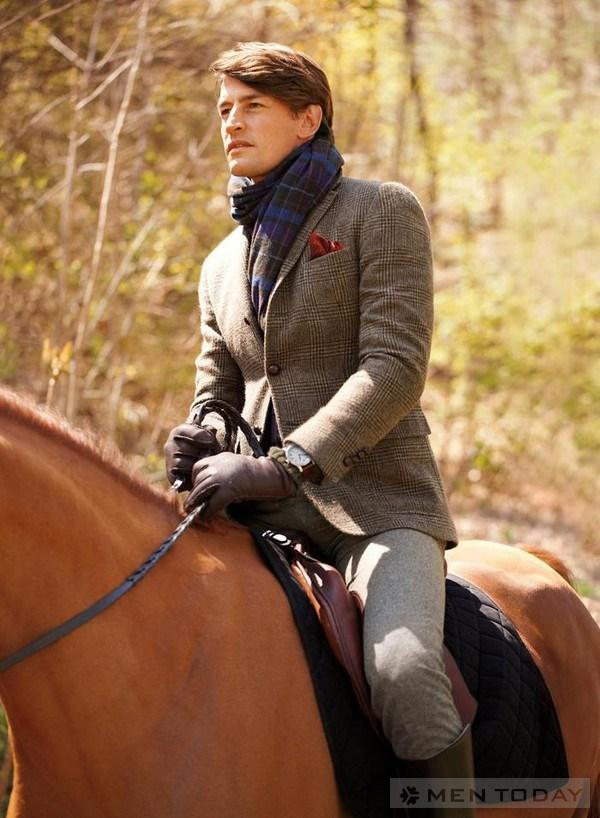 Xu huong thoi trang nam mua dong 2012 tu BST Polo Ralph Lauren