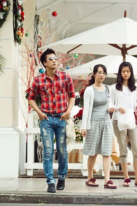 Xuong pho don Giang sinh cung nguoi mau Sai thanh