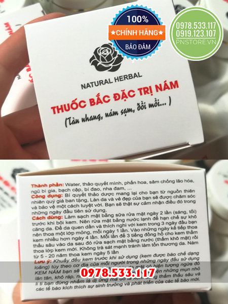 Kem dong y dac tri nam cua Vien Y Duoc Hoc Co Truyen Viet Nam