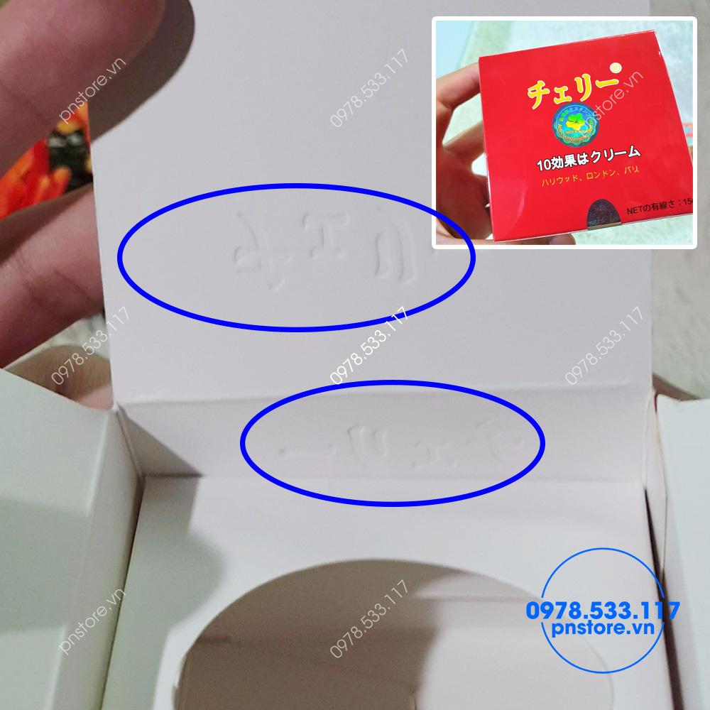 Kem Hoa Anh Dao Nhat Ban duong trang da tri nam chong lao hoa